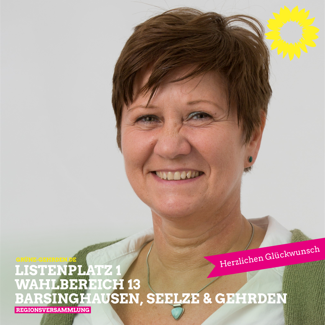 Nicole van der Made Spitzenkandidatin der GRÜNEN