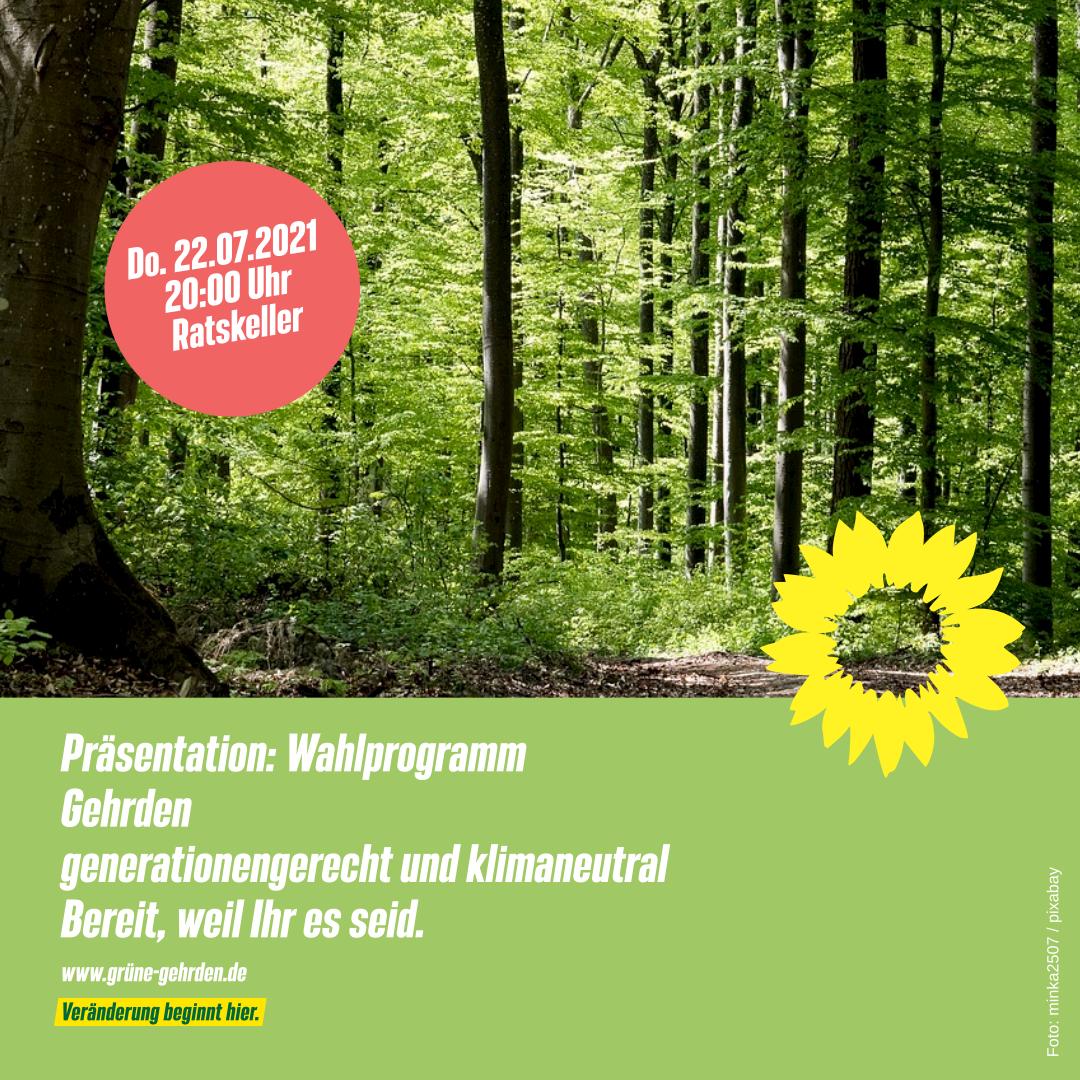 Präsentation Wahlprogramm Gehrden