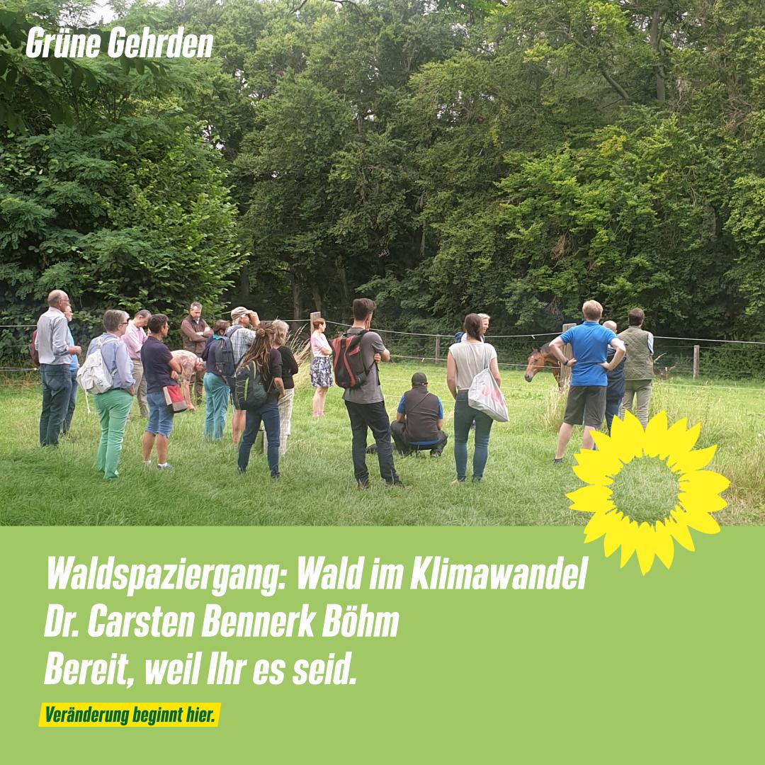 GRÜNE Gehrden: Waldspaziergang Gehrdener Berg