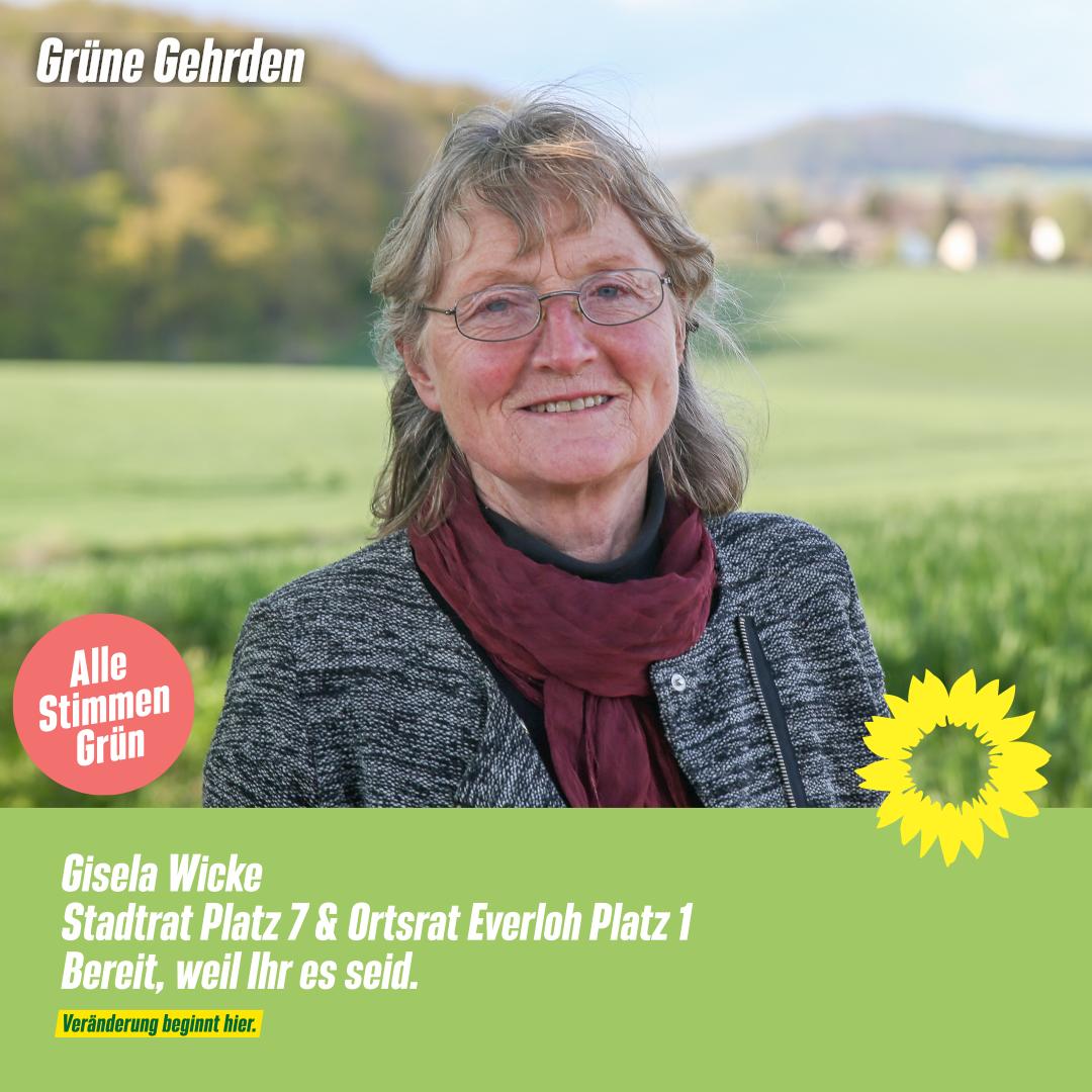 4 Fragen an: Gisela Wicke – Stadtrat  & Ortsrat Everloh