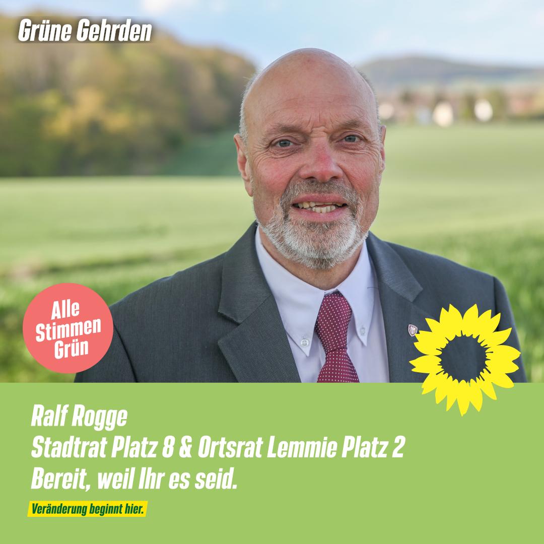 4 Fragen an: Ralf Rogge – Stadtrat  & Ortsrat Lemmie