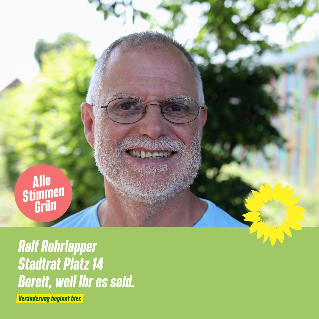 4 Fragen an: Ralf Rohrlapper – Stadtrat