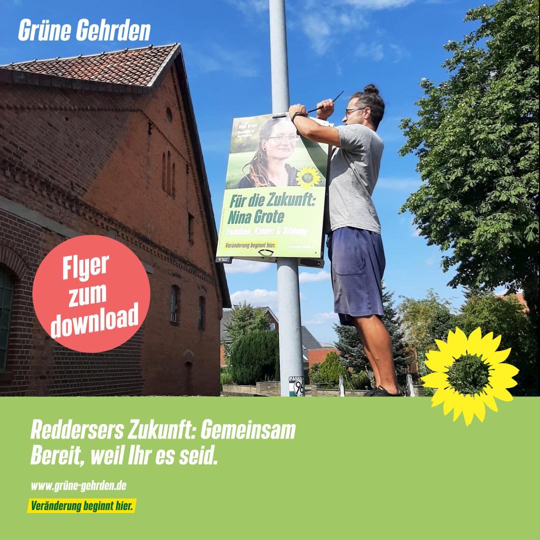 Warum Marco die GRÜNEN in Gehrden unterstützt