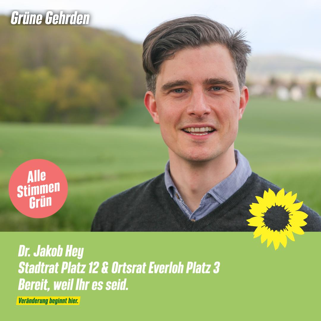 4 Fragen an: Dr. Jakob Hey – Stadtrat – Ortsrat Everloh