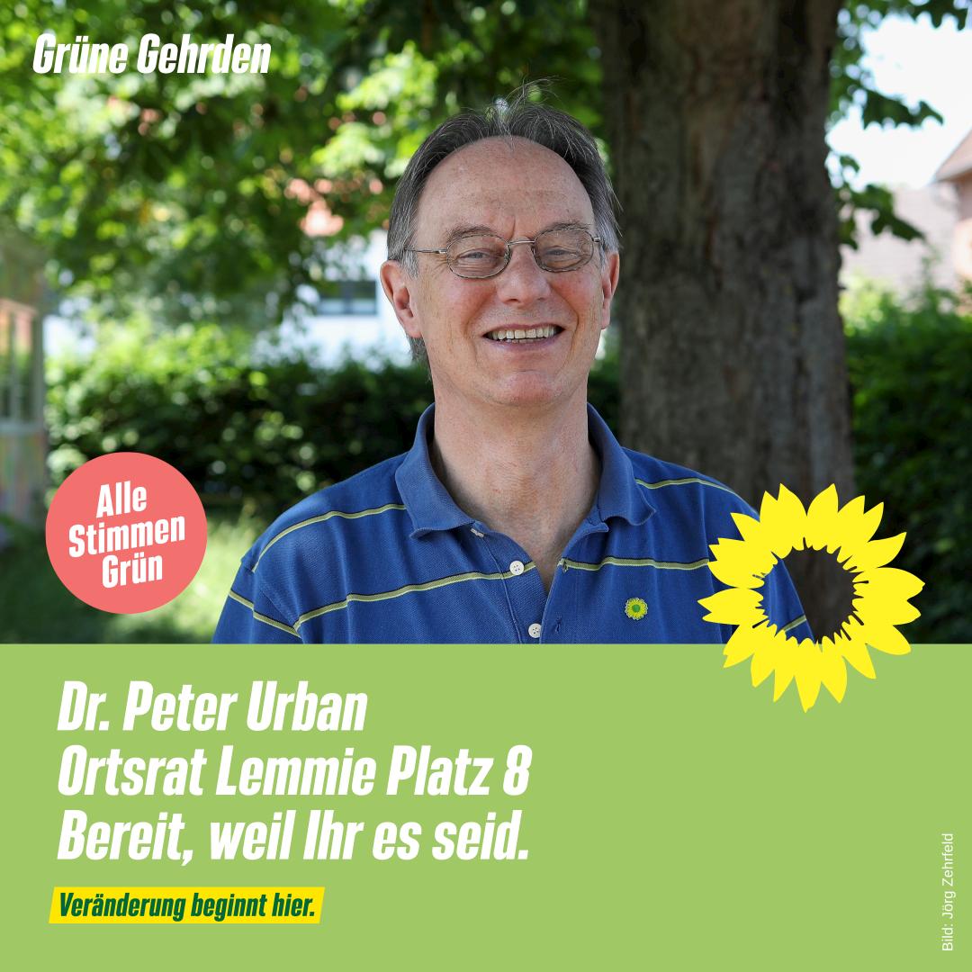4 Fragen an: Dr. Peter Urban – Ortsrat Lemmie