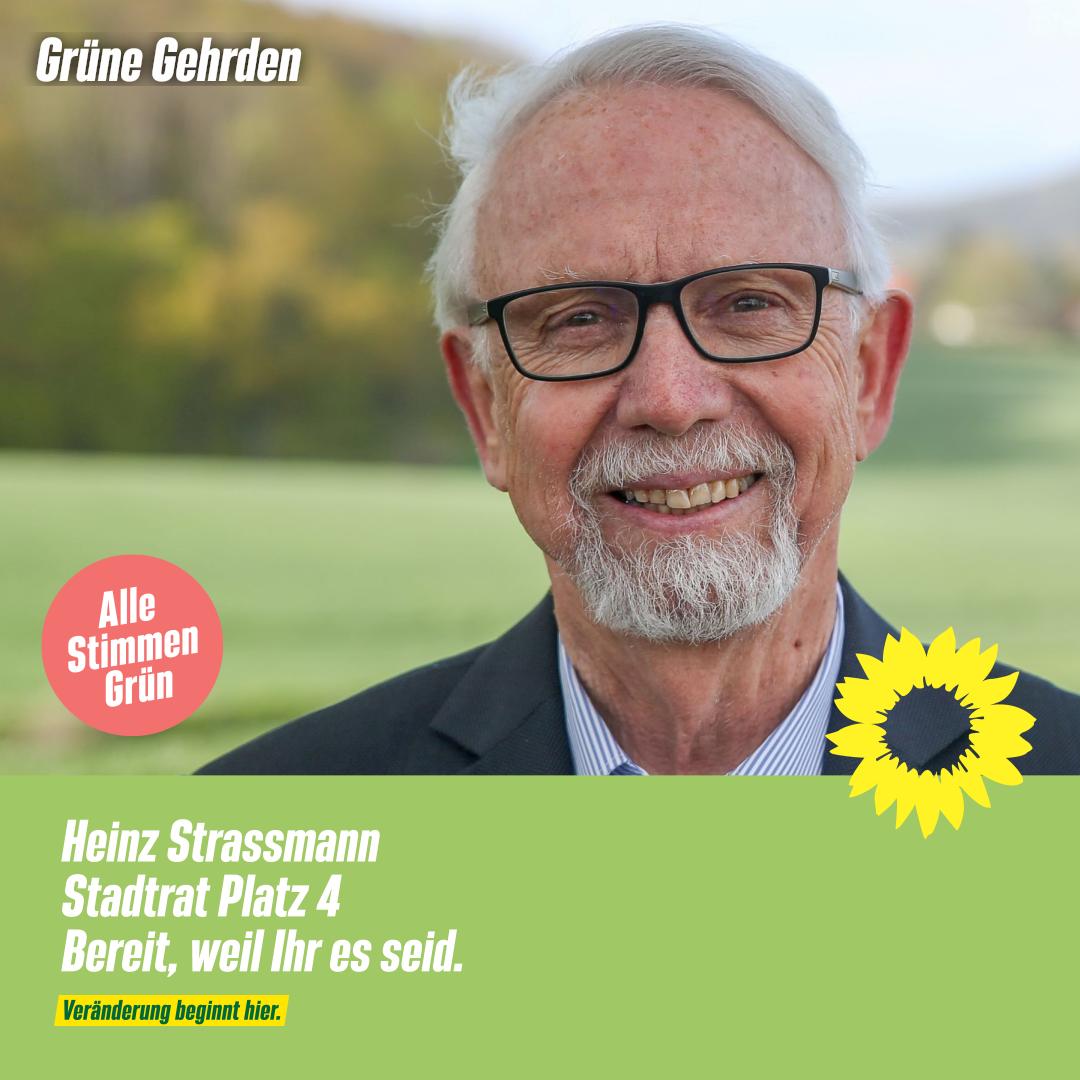 4 Fragen an: Heinz Strassmann – Stadtrat