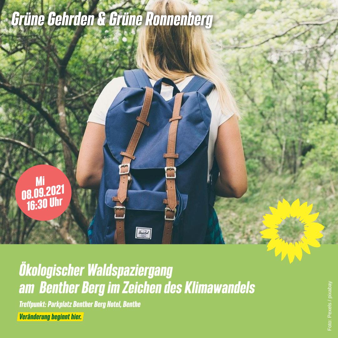 Einladung: Waldspaziergang II- Ökologischer Waldspaziergnag mit Ulrich Schmersow am Benther Berg
