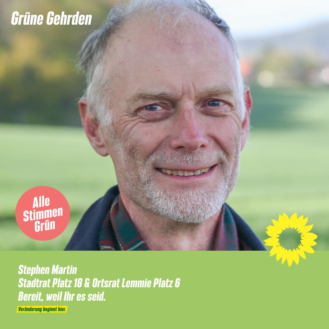 4 Fragen an: Stephen Martin – Stadtrat  –  Ortsrat Lemmie