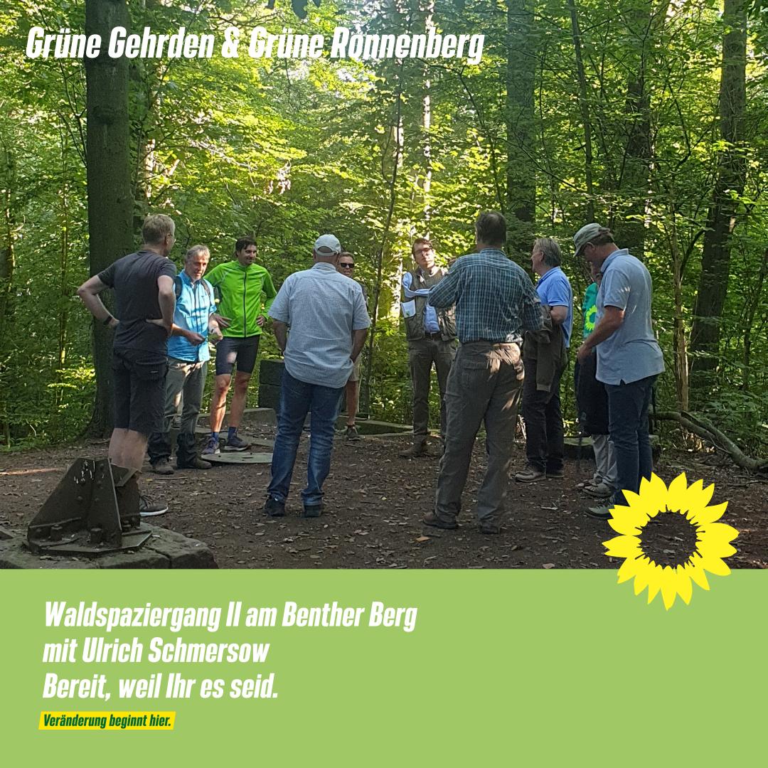 Waldspaziergang II am Benther Berg in Zeiten des Klimawandels